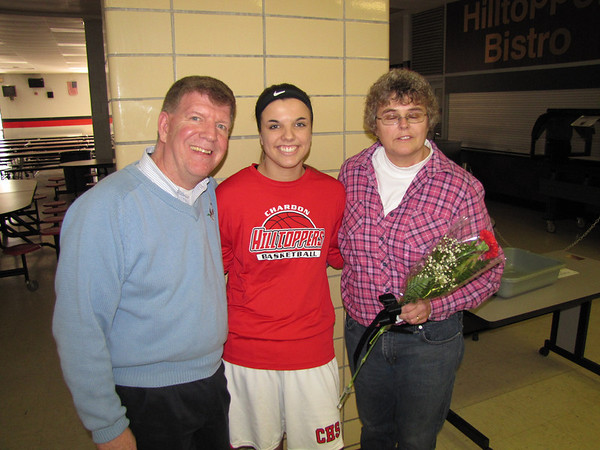 '14 Chardon Sr. Nights GBB/Wrestling