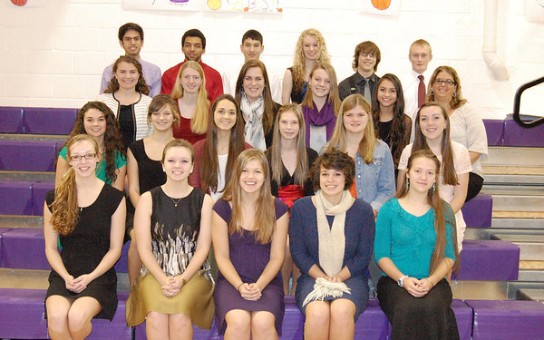 '13 Berkshire National Honor Society Inductions