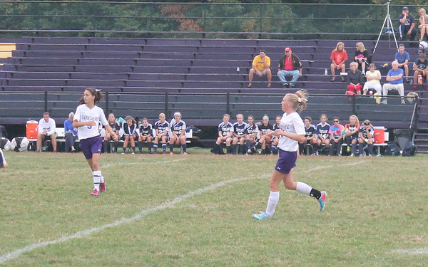 '13 Berkshire Girls Soccer vs Kirtland