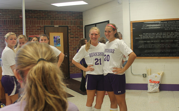 '13 Berkshire Soccer Senior Night