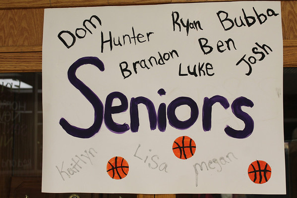 '14 Berkshire Boys Basketball Senior Night