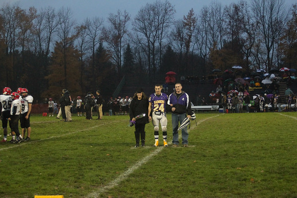 """14 Berkshire Fall Senior Night Football Game vs Cardinal"