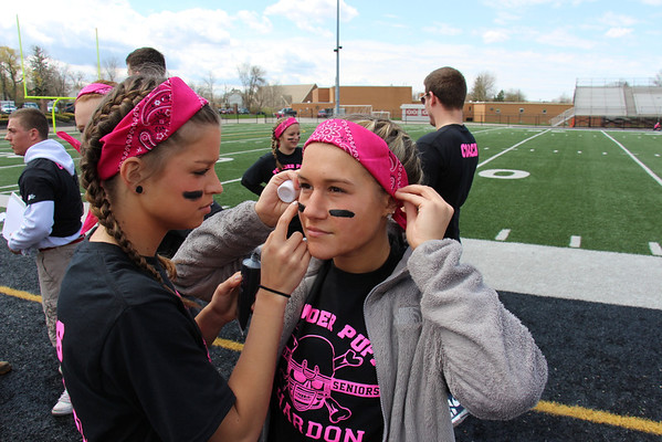 '14 Topper Powderpuff Football!