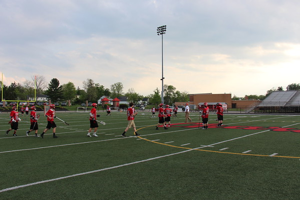 '15 Chardon Lacrosse Senior Night