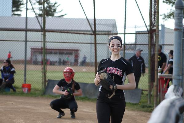'15 Cardinal Softball vs Mapplewood